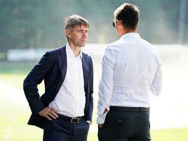 Petinggi Milan Ricky Massara dan Paolo Maldini