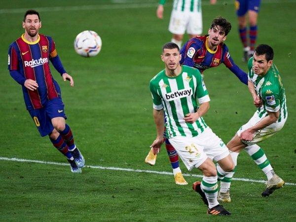 Trincao berhasil membuka rekening golnya di Barcelona.