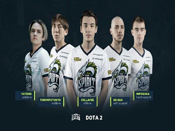 Team Spirit Lakukan Perombakan Roster di Dota Pro Circuit 2021