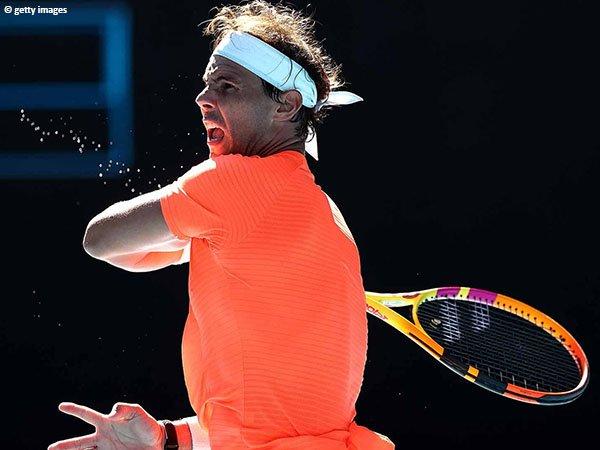 Rafael Nadal lolos ke babak kedua Australian Open 2021