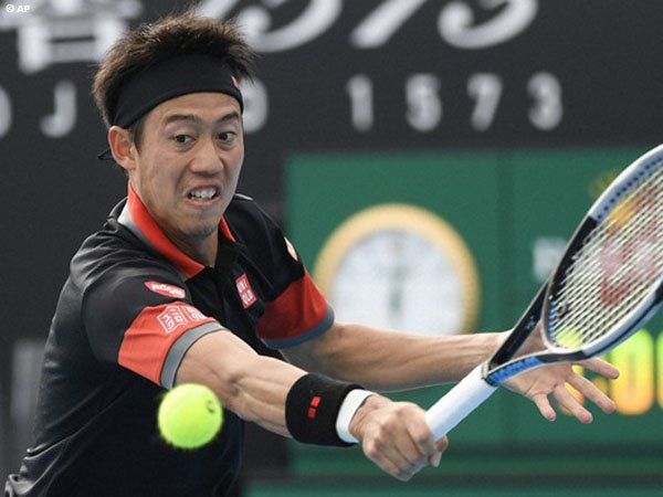 Kei Nishikori tak lolos babak pertama Australian Open untuk kali pertama sejak musim 2009