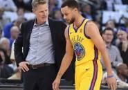 Steve Kerr dan Warriors Tak Akan Paksa Steph Curry Untuk 'Kejar Kemenangan'