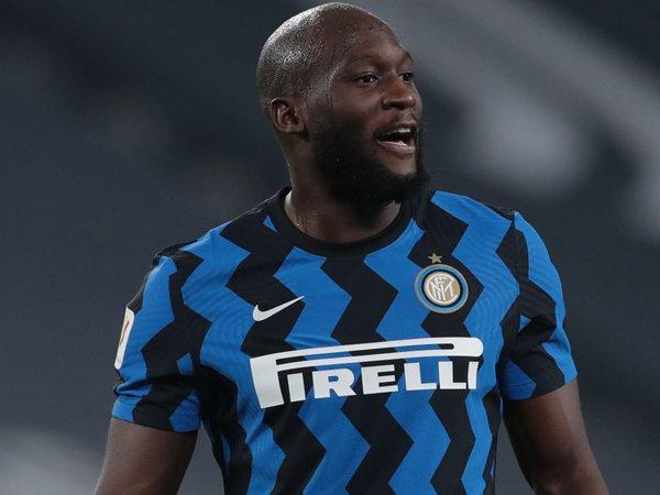 Striker Inter Milan, Romelu Lukaku.