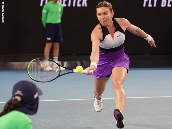 Simona Halep susah payah demi lolos ke babak ketiga Australian Open 2021