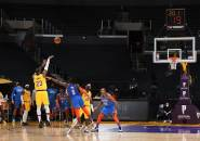 Lewat Overtime, Los Angeles Lakers Kalahkan OKC Thunder Lagi