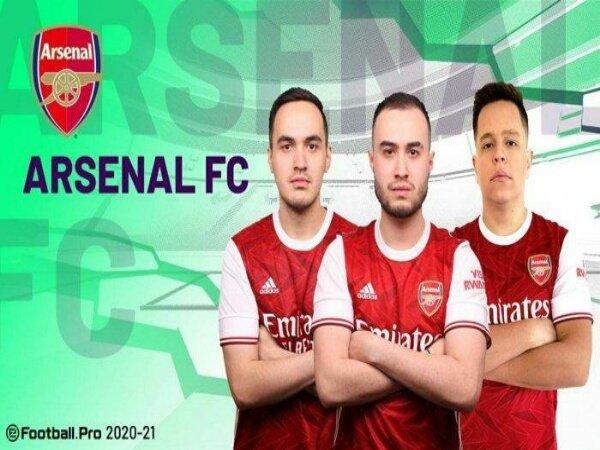 Arsenal Curi Tiga Poin dari Manchester United di eFootball.Pro League 2021