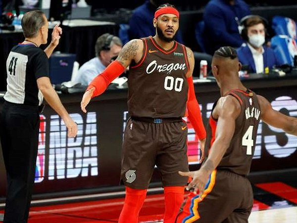 Doc Rivers Puji Pemain veteran Portland Trail Blazers, Carmelo Anthony.