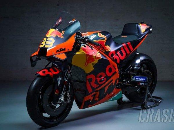 KTM luncurkan motornya untuk MotoGP 2021