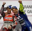 Valentino Rossi Heran Dovizioso Jadi Pengangguran Tak Ikut MotoGP 2021