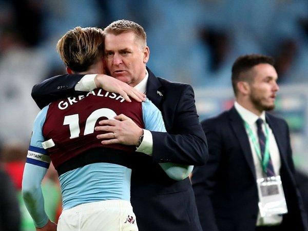 Pelatih Aston Villa Dean Smith sebut Grealish pemain yang unik. (Gambar: Getty)