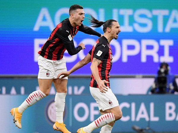 Diogo Dalot dan Zlatan Ibrahimovic