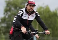 Fernando Alonso Alami Keretakan Bagian Rahang Usai Kecelakaan