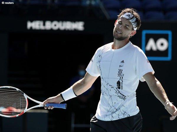 Dominic Thiem tersingkir di babak keempat Australian Open 2021