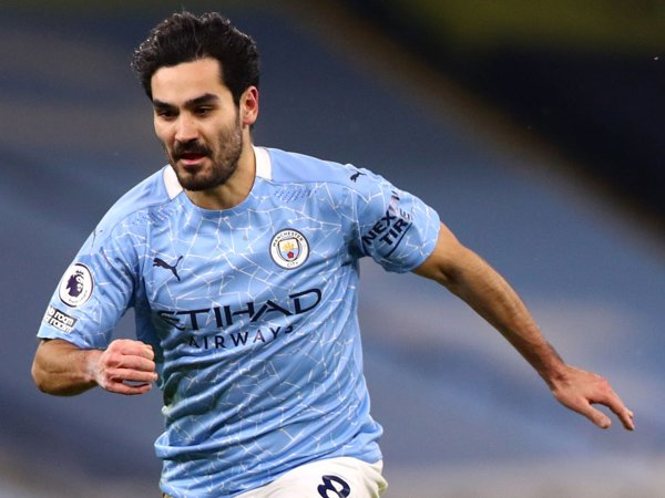 Gelandang Manchester City, Ilkay Gundogan.