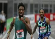Noah Lyles Juara Kategori 200m di World Indoor Tour di New York
