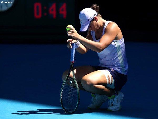 Ashleigh Barty gagal melenggang ke semifinal Australian Open 2021