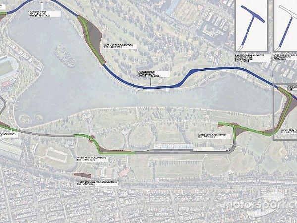 Sirkuit Albert Park untuk Grand Prix Australia akan berubah