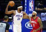 Joel Embiid Tahan Rasa Nyeri Kala Mendominasi Houston Rockets