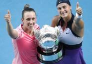 Hasil Australian Open: Aryna Sabalenka Dan Elise Mertens Bawa Pulang Gelar