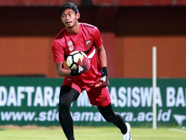 Mantan kiper Madura United, Satria Tama