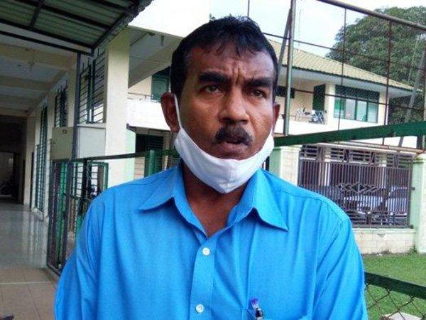 Sekretaris tim PSMS Medan, Julius Raja