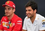 Ferrari Tak Halangi Leclerc dan Sainz Untuk Bersaing