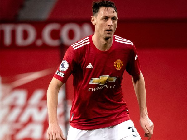 Gelandang Manchester United, Nemanja Matic.