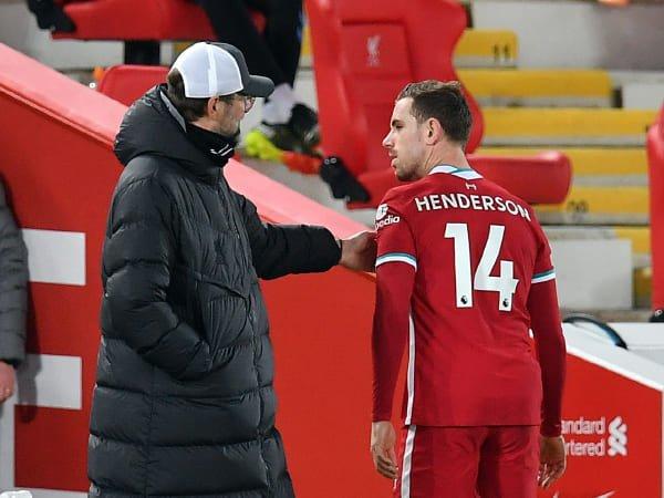 Henderson Diperkirakan Absen Bela Liverpool Pada Lima Laga Selanjutnya