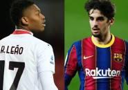 Persiapan Ditinggal Messi, Barcelona Ingin Barter Trincao dengan Leao