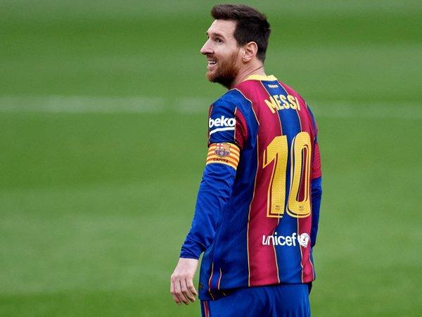 Kapten Barcelona, Lionel Messi.