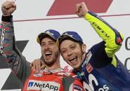 Andrea Dovizioso Sebut Mustahil Duet dengan Valentino Rossi
