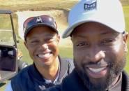 Dwyane Wade Sempat Main Golf bersama Tiger Woods Sehari sebelum Kecelakaan