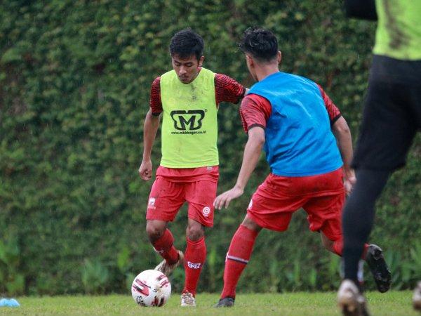 Latihan perdana Madura United