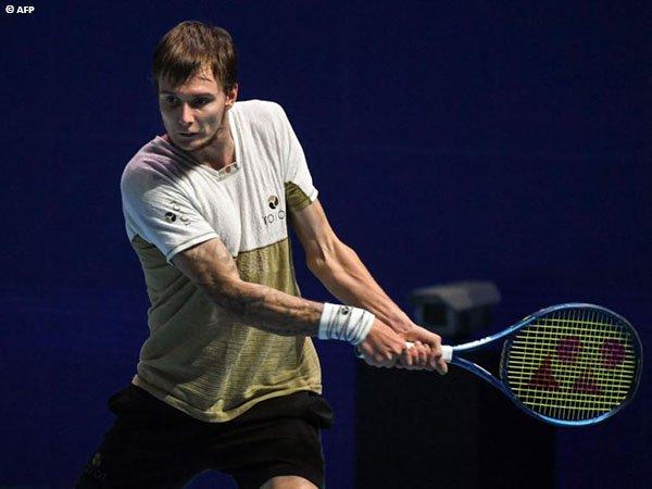 Alexander Bublik melenggang ke final Singapore Tennis Open 2021