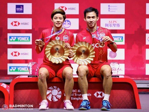 Dechapol dan Sapsiree, Talenta Terbaik Asia Asal Thailand