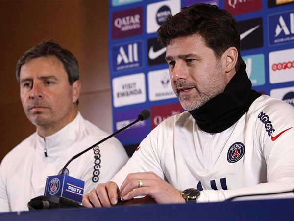 Manajer Paris Saint-Germain, Mauricio Pochettino.