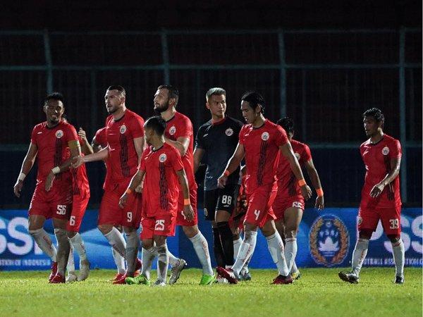 Skuat Persija Jakarta pada Liga 1 2020 lalu