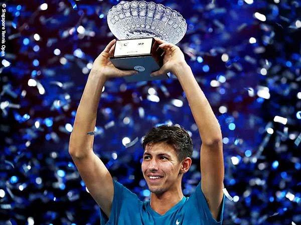 Alexei Popyrin keluar sebagai juara Singapore Tennis Open 2021