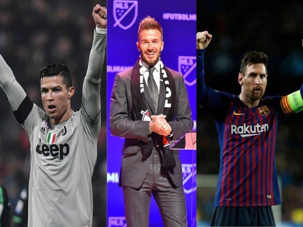 David Beckham ingin datangkan CR7 dan Leo Messi ke Inter Miami / via Istimewa