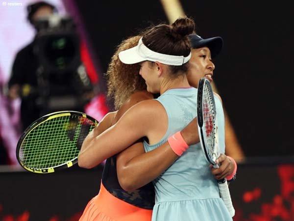 Naomi Osaka [kiri] menangkan gelar Australian Open untuk kali kedua pada musim 2021
