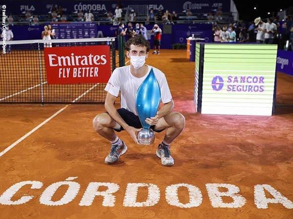 Juan Manuel Cerundolo juarai Cordoba Open 2021