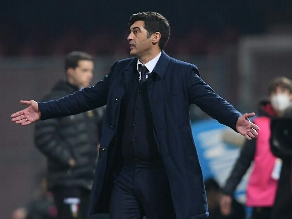 Paulo Fonseca sebut start yang jelek sebagai alasan kekalahan AS Roma dari AC Milan
