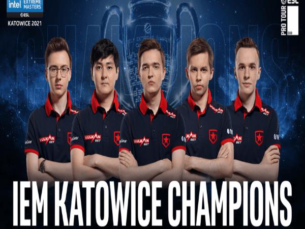 Meski Sempat Tertinggal, Gambit Esports Berhasil Juara IEM Katowice