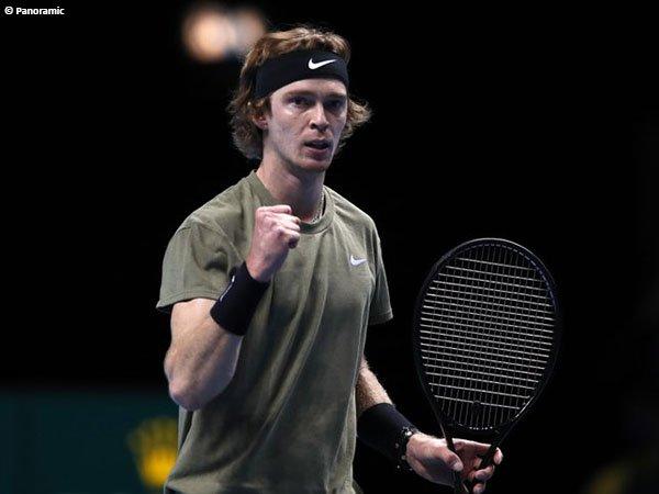 Andrey Rublev lolos ke babak kedua Rotterdam Open 2021