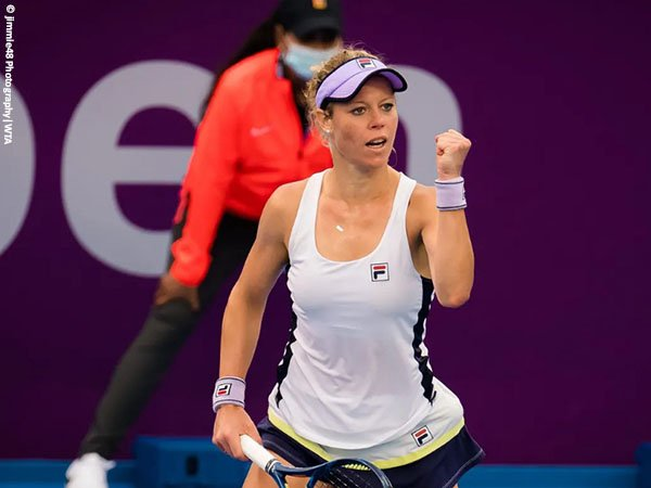 Laura Siegemund melenggang ke babak kedua Qatar Open 2021