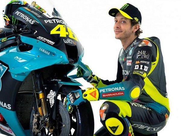 Valentino Rossi ingin meraih kemenangan lagi pada MotoGP 2021.