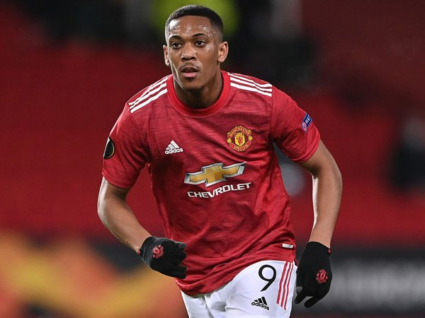 Striker Manchester United, Anthony Martial.