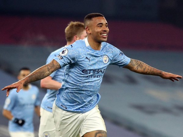 Striker Manchester City, Gabriel Jesus.