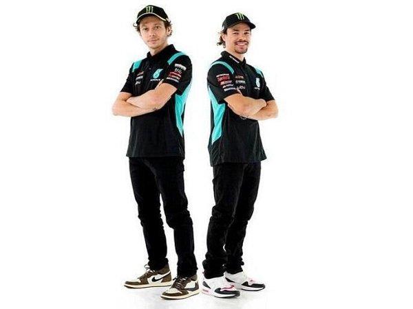 Franco Morbidelli ingin jadikan Valentino Rossi lawan sekaligus kawan.