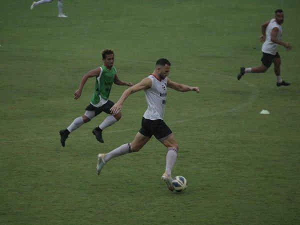 Latihan skuat Bali United jelang hadapi timnas Indonesia U-23